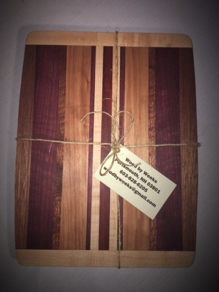 Cutting Board With Cherry